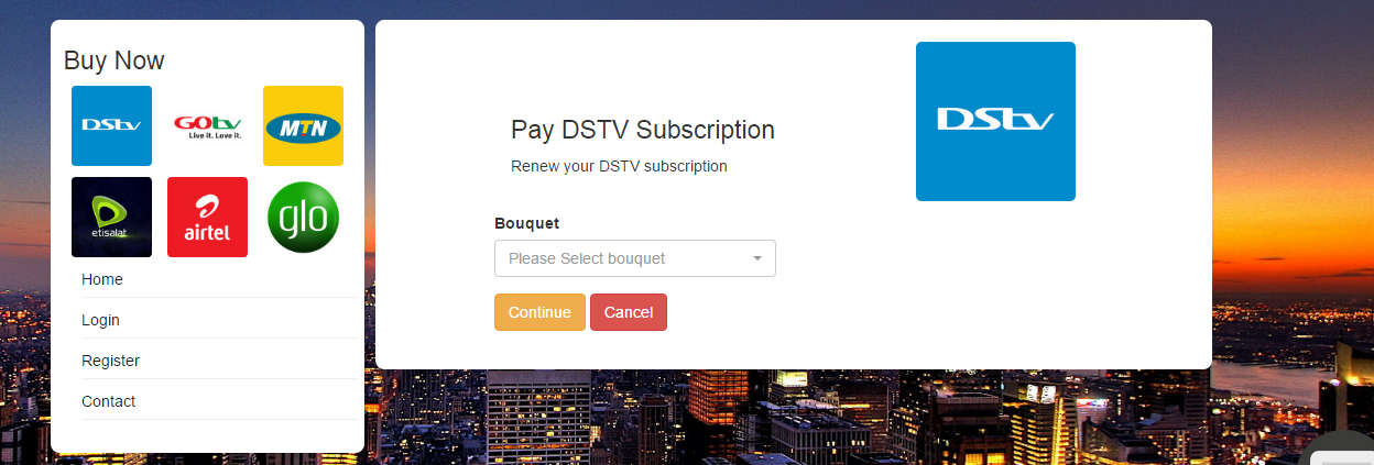 DSTV Subscription Renewal