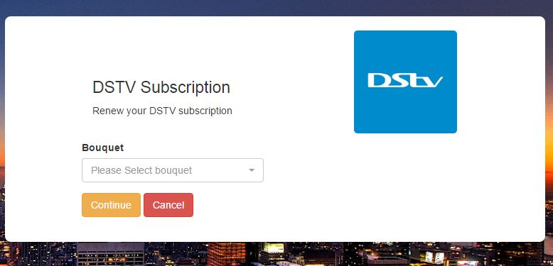 How to Make DSTV Subscription Payment Online