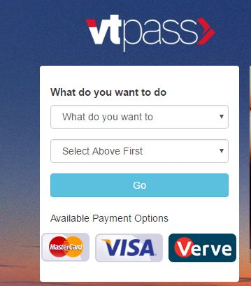 make electricity subscription renewal on Vtpass.com