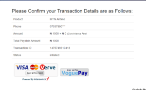 Pay for Phone airtime online