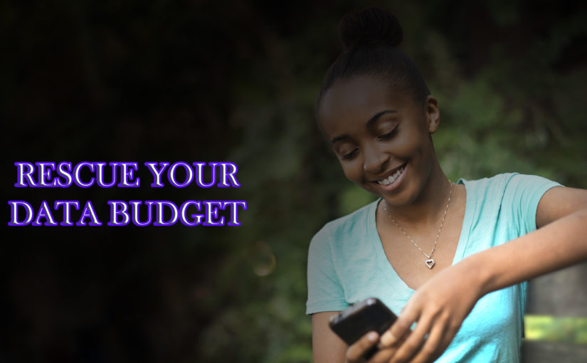 DATA BUDGET:How to reduce data usage