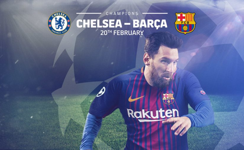 CHELSEA AND BARCELONA FACEOFF