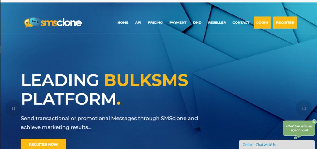 bulk sms on vtpass