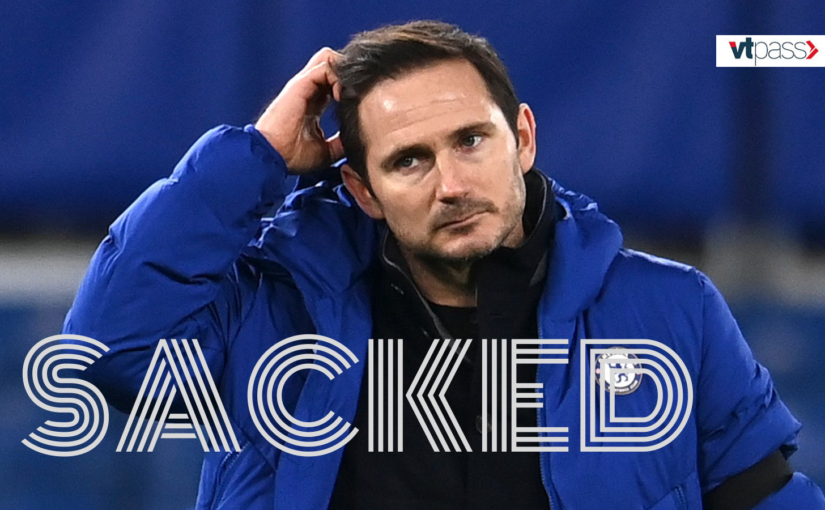 "Frank Lampard ""SACKED"" by Chelsea"