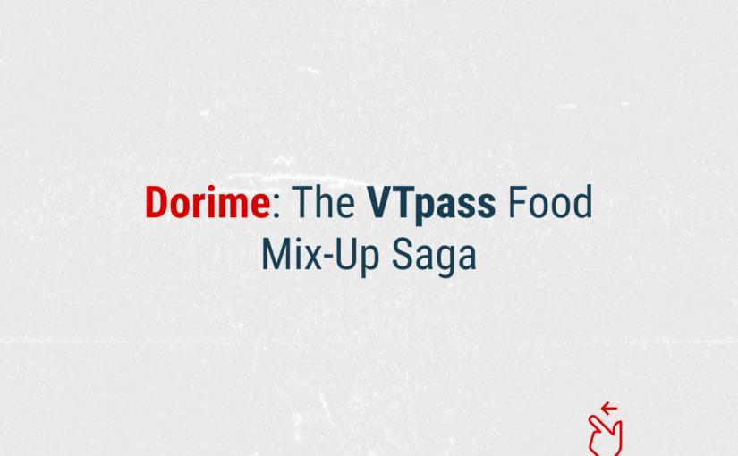Dorime: The Food Mix-Up