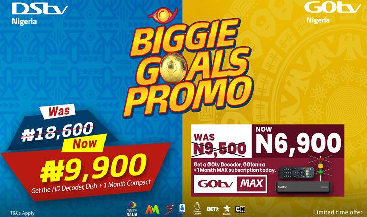 Multichoice Biggie Goals Promo!